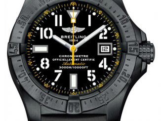 Breitling Avenger Seawolf Blacksteel Code Yellow Fake Watches