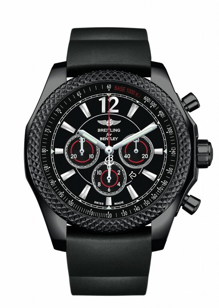 Breitling Bentley Barnato 42 Midnight Carbon Watches