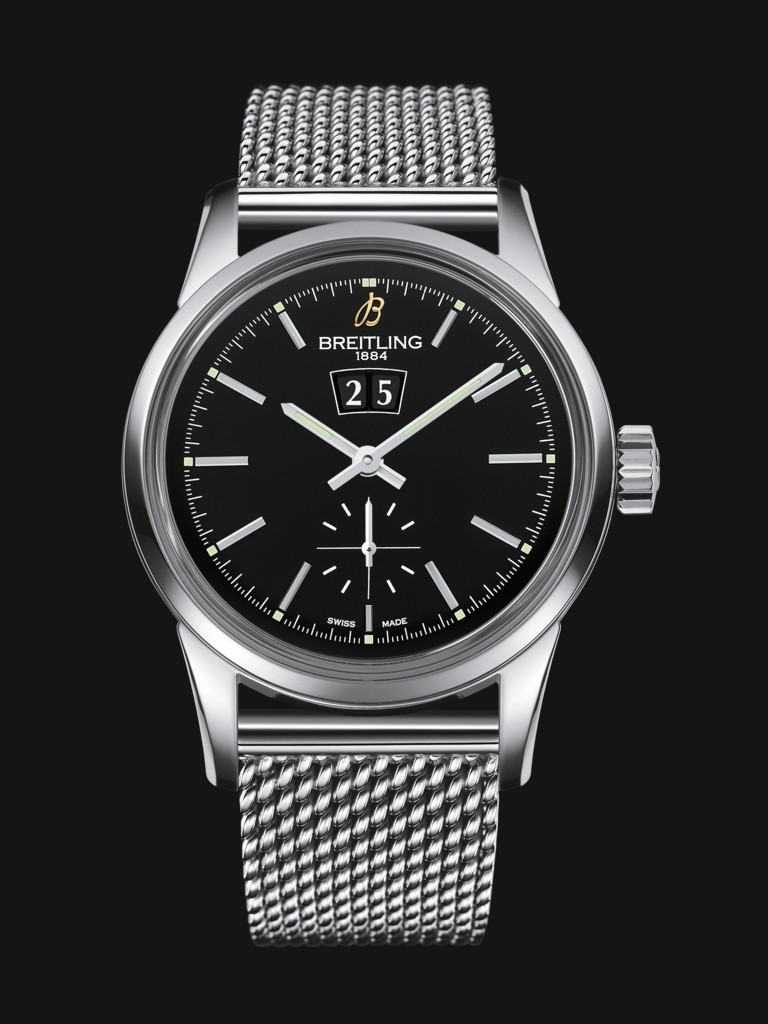 Breitling Black Dial Transocean 38MM Replica Watches