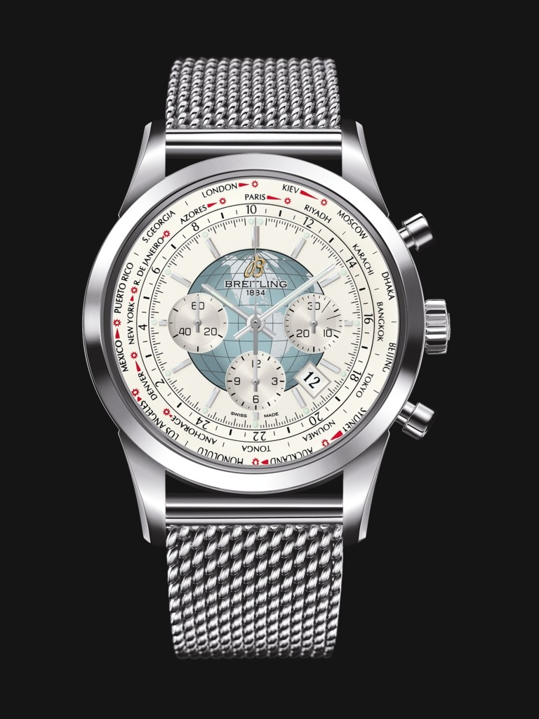 Breitling Transocean Chronograph Unitime copy Watches