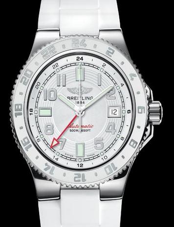 Professional Breitling Superocean GMT White Edition Replica Watches