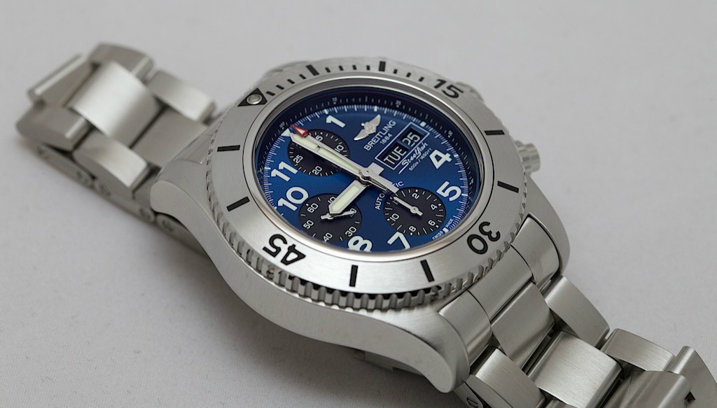Steel Bracelets Breitling Superocean Chronograph Steelfish Fake Watches
