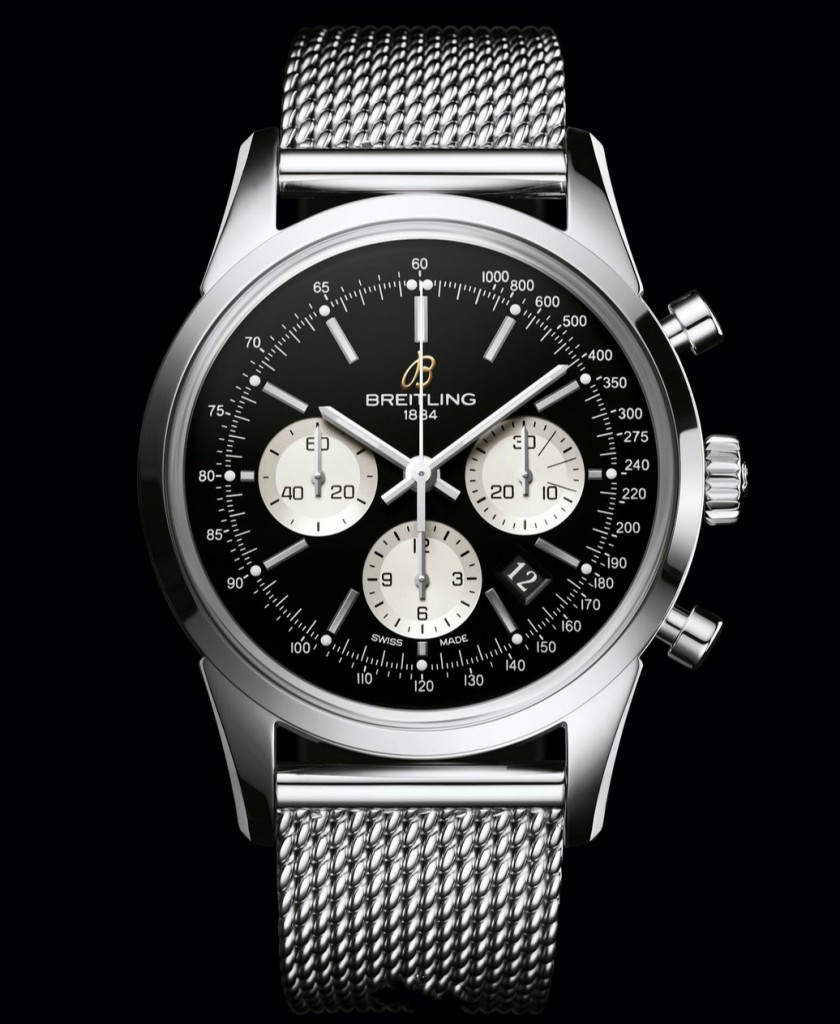 Steel Bracelets Breitling Transocean Chronograph Fake Watches