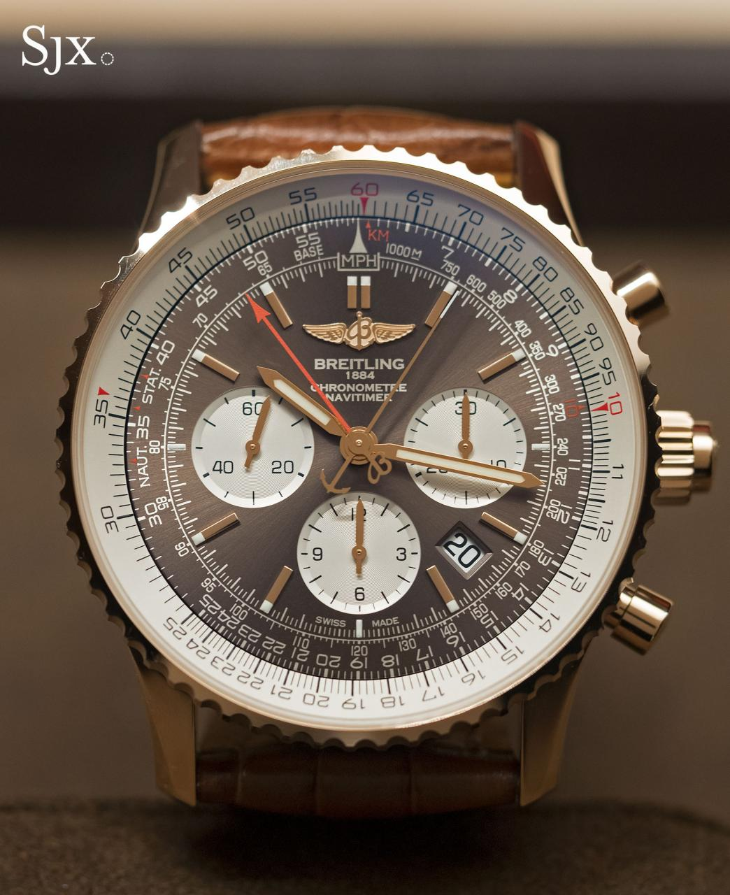 Breitling Navitimer Rattrapante red gold 10