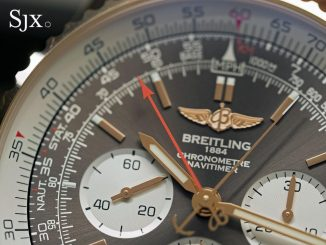 Breitling Navitimer Rattrapante red gold 11