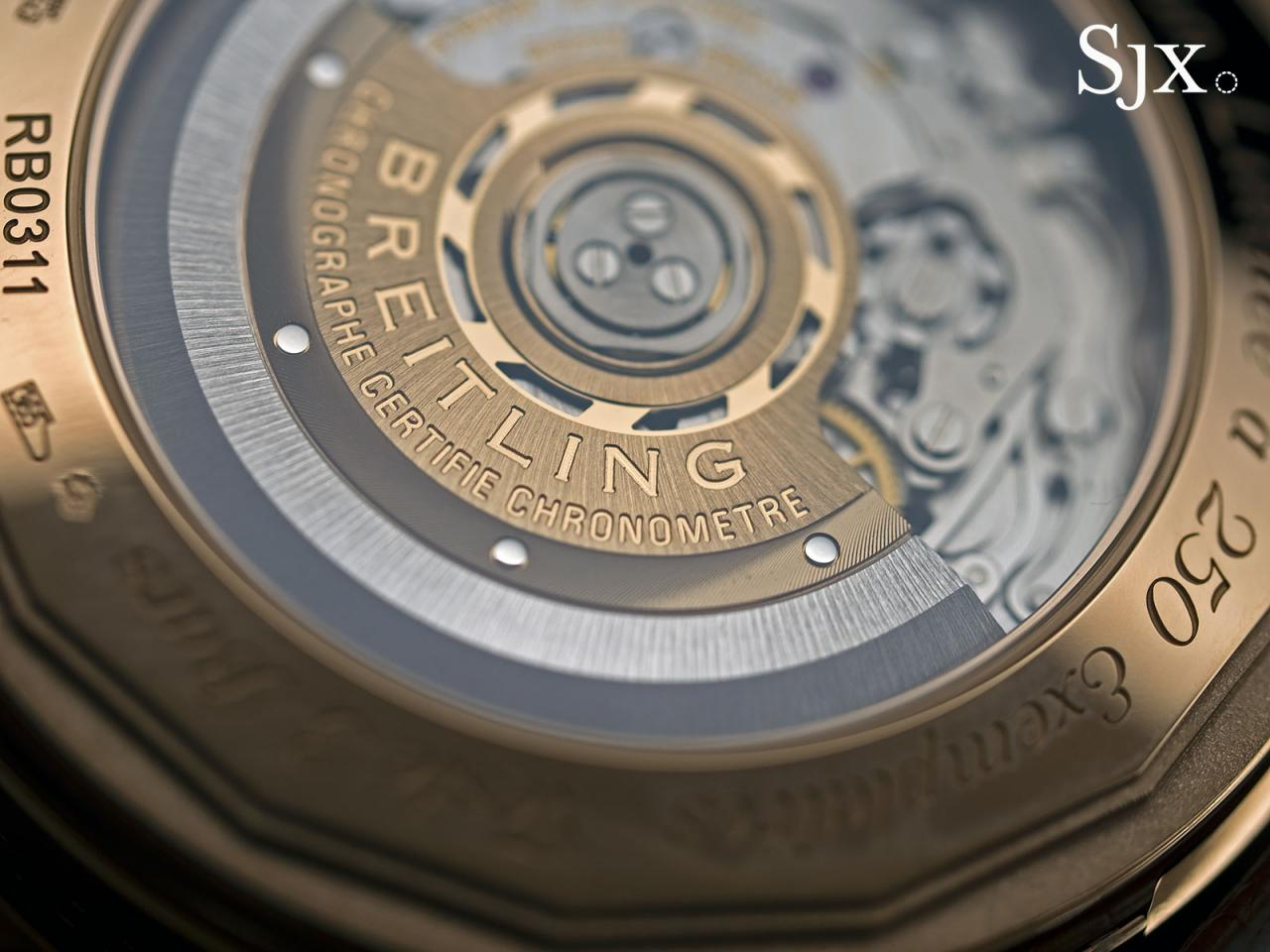Breitling Navitimer Rattrapante red gold 3