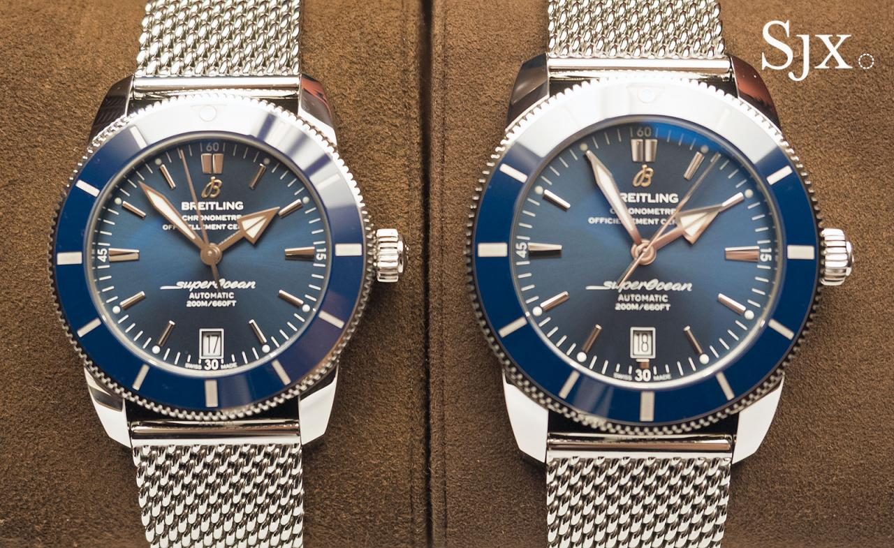 Breitling Superocean Heritage II 42 and 46