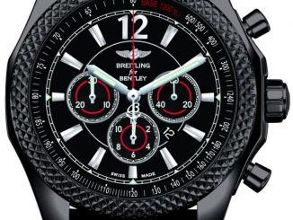 Breitling Barnato 42 Midnight Carbon Watch Watch Releases