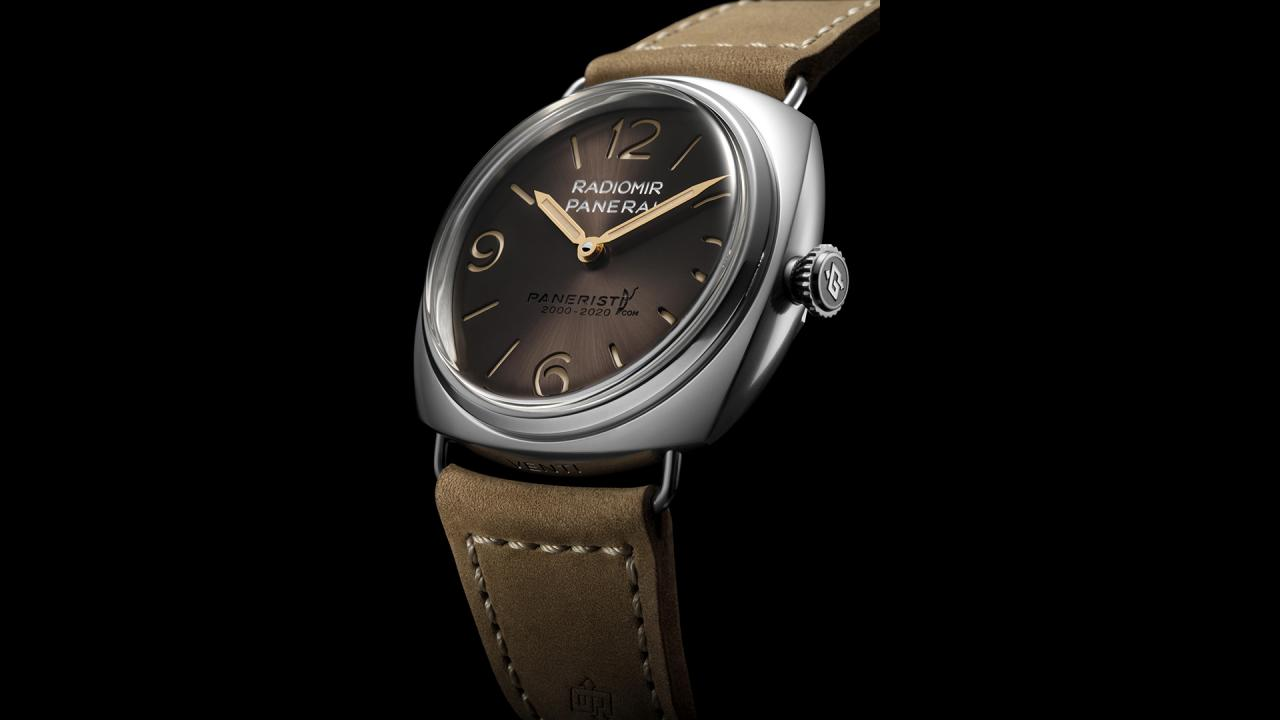 Panerai Unveils Limited Edition Radiomir Venti fake Watches Celebrating 20 Years Of Paneristi